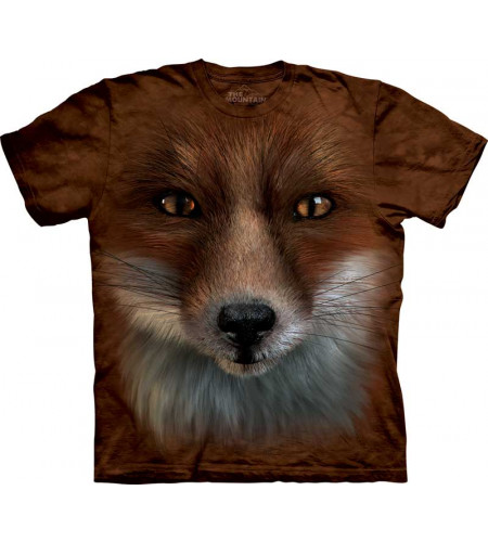 THE MOUNTAIN - Tee shirt enfant Big Face Fox Renard
