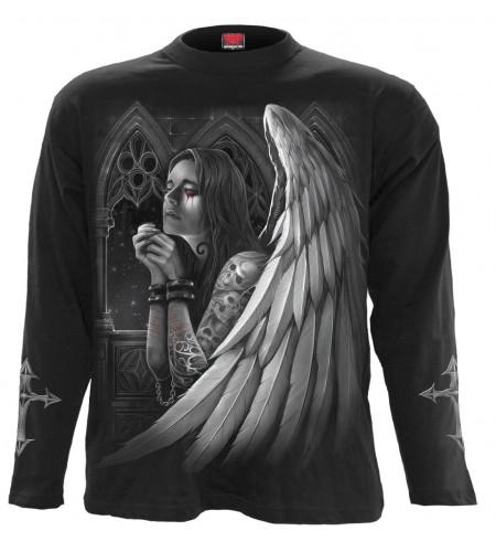 magasin gothic en ligne france dordogne tee shirt ange gothique