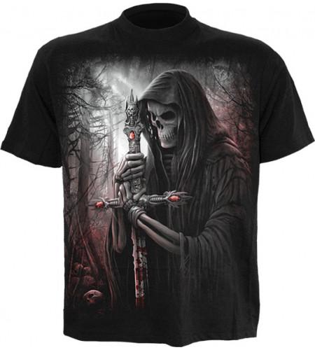 t-shirt gothique homme reaper soul searcher