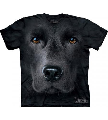 tee shirt labrador noir nomme