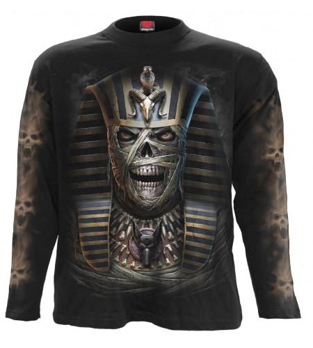 boutique vente tee shirt motif momie squelette spiral