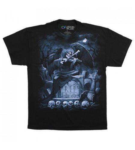 RIP Reaper - T-shirt homme - Dark fantasy gothic - Liquid Blue