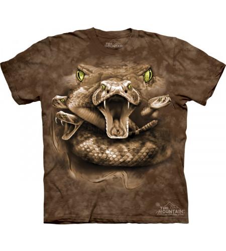 tee shirt motif imprimé serpent
