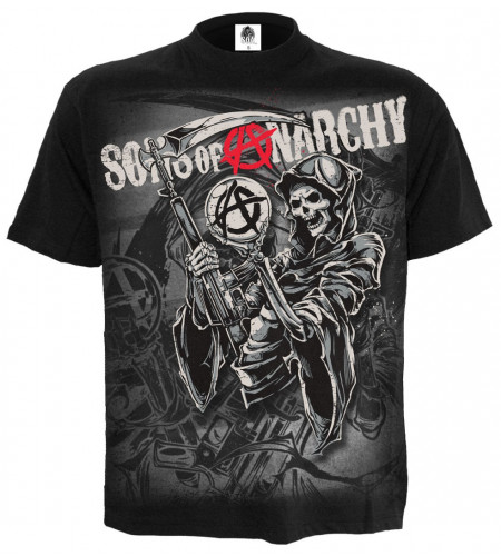 Boutique vente merch sons of anarchy tee shirt licence officielle série TV