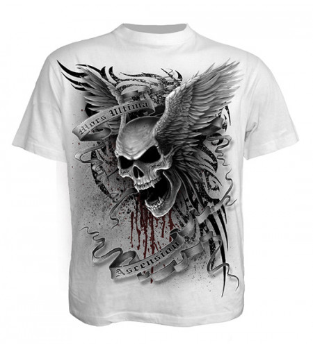 t-shirt tete de mort spiraldirect
