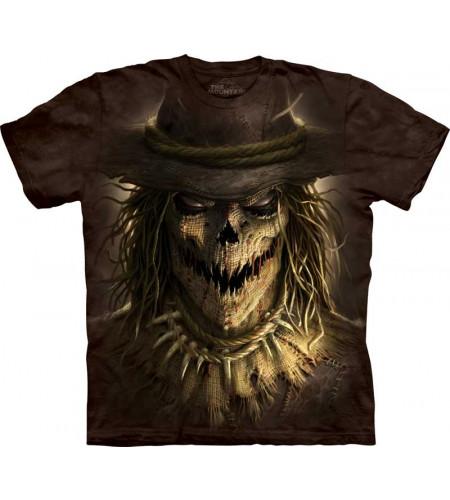 tee shirt homme manches courtes motif épouvantail sacrecrow yhe mountain
