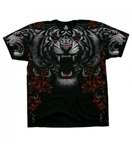 boutique tee shirt liquid blue tigres