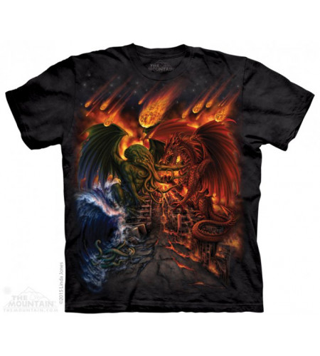 tee shirt the mountain adulte titan apocalypse