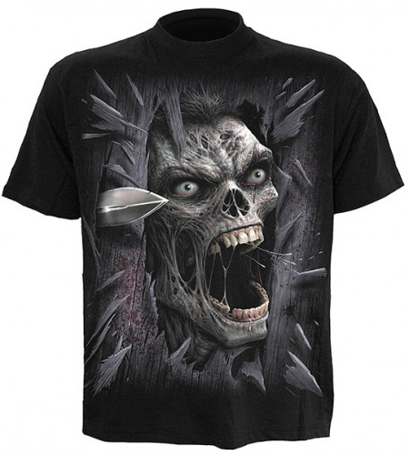 Heres zombie - T-shirt homme - Spiral
