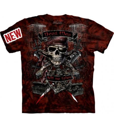 tee shirt crane pirate squelette