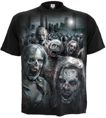Boutique WALKING DEAD vente merchandising licence officielle série tv tee shirt