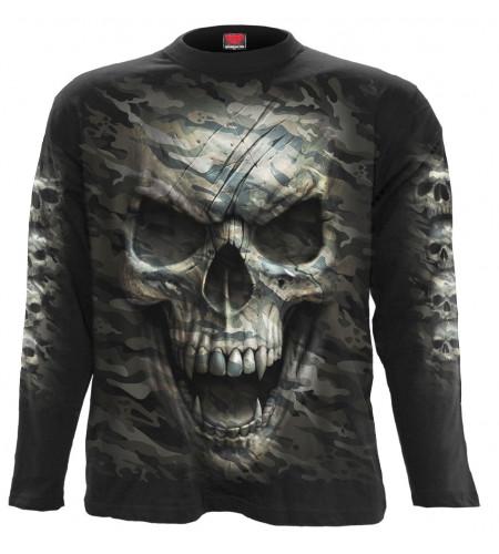 Camo skull - Tee-shirt crâne - Homme - Spiral