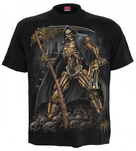 Steampunk skeleton - T-shirt homme - Spiral