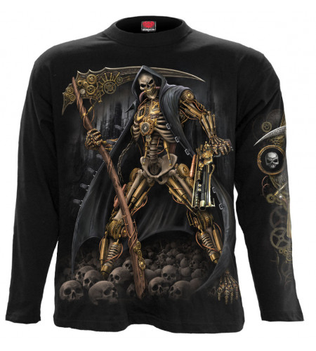 Boutique vêtement motif steampunk tee shirt