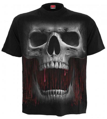 Death roar - T-shirt homme crane - Spiral