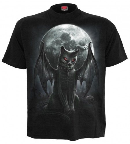 Vamp cat - T-shirt chat vampire - Homme - Spiral