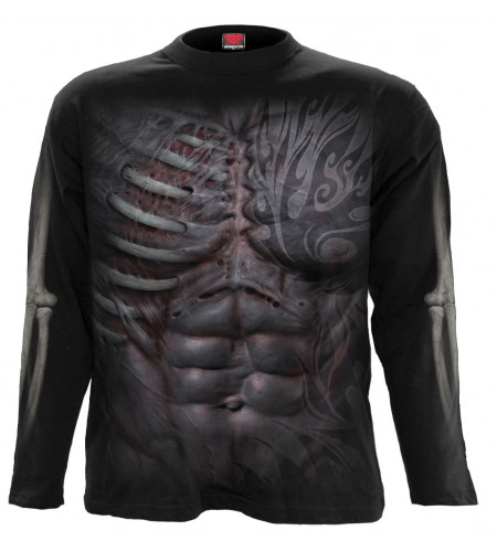 Ripped - T-shirt homme gothic - Manches longues - Spiral