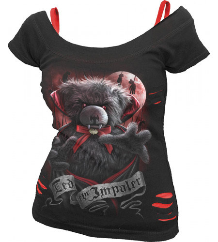 Ted the impaler - Tee-shirt femme gothic