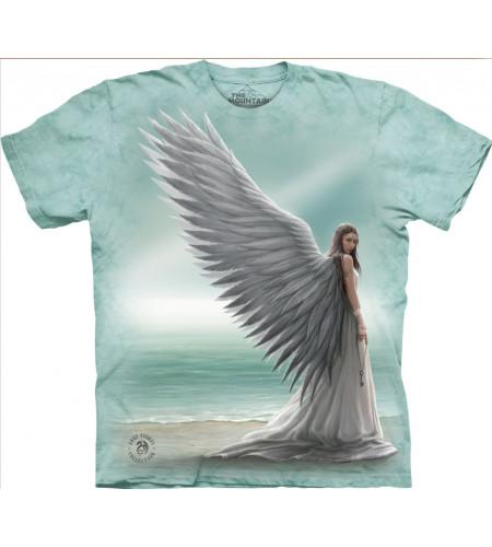 Boutique angélique motif ange tee shirt anne stokes the mountain
