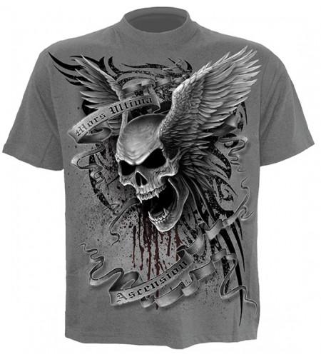 tee shirt crane gothique