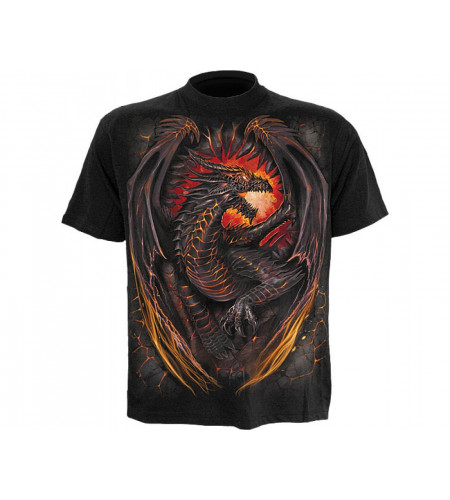 Boutique vente tee shirt motif dragons vêtement enfant