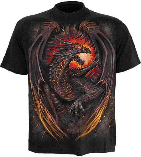 tee shirt dragon furnace