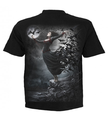 boutique gothique vente tee shirt homme goth nights manches courtes