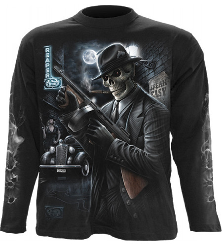 Gangster - Tee-shirt homme gothique