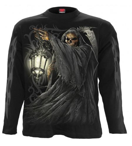 Death lantern - Tee-shirt squelette Reaper - Homme