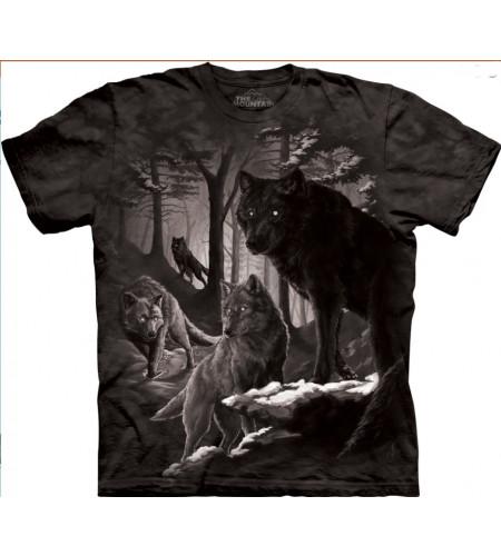 Dire winter - Tee-shirt loups - The Mountain