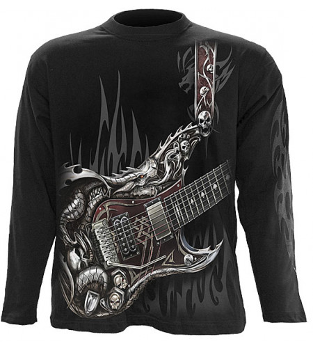 tee shirt rock homme guitare metal