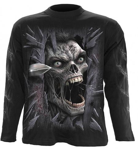 tee shirt zombi spiral homme