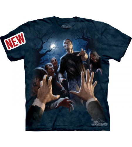 tee shirt de zombis the mounain boutique gore france