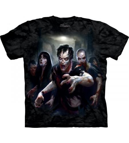 tee shirt de zombies