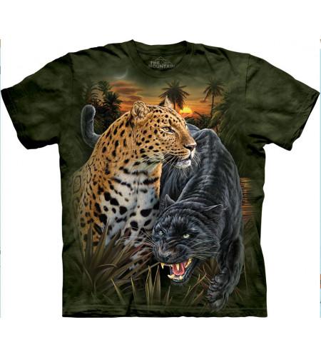 2 jaguars félins - Tee-shirt - The Mountain