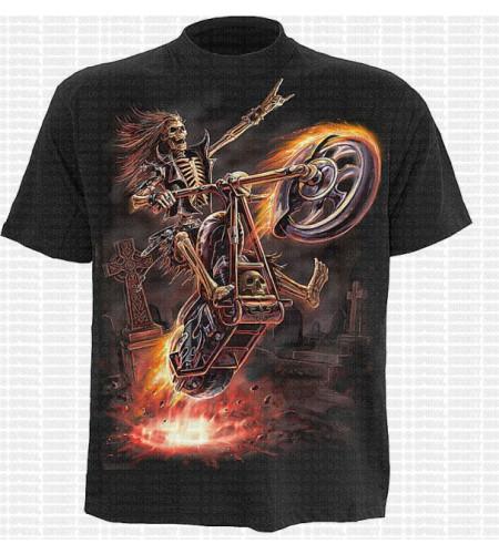 Hell rider - T-shirt enfant - Squelette moto