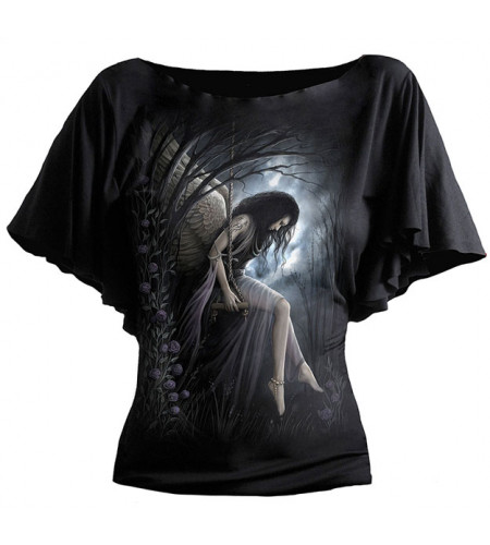 Angel lament - T-shirt femme ange gothic
