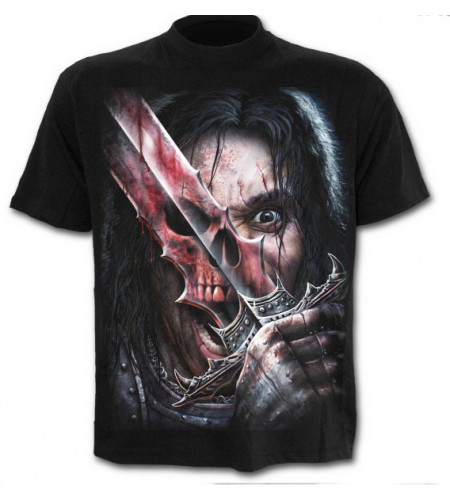 Spirit of the sword - T-shirt homme gothique squelette