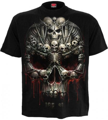 Death bones - T-shirt homme - Crânes - Spiral
