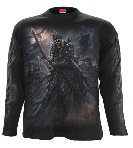 boutique en ligne tee shirts dark fantasy manches longues spiral death army