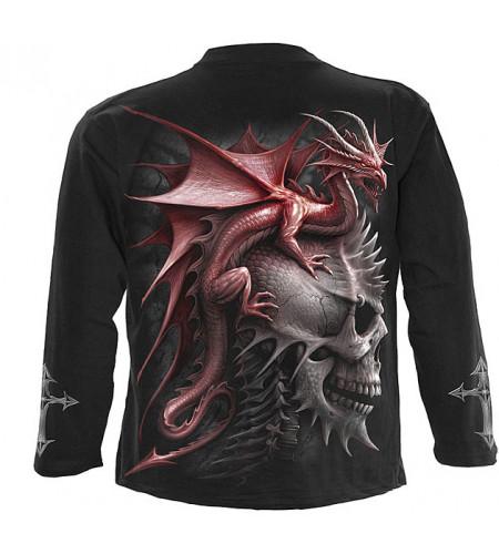 tee shirt de dragon manches longues
