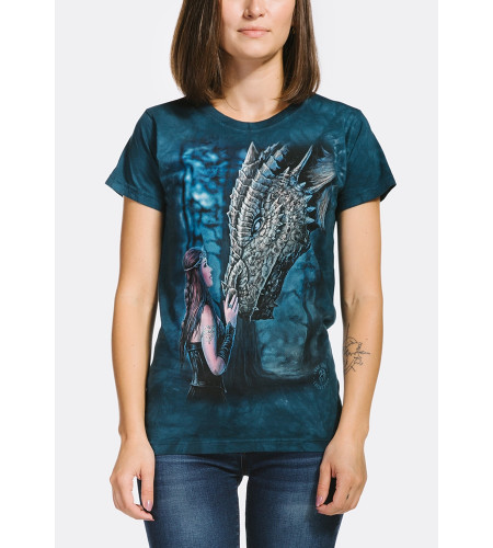 Once Upon a Time- T-shirt dragon - Femme - The Mountain