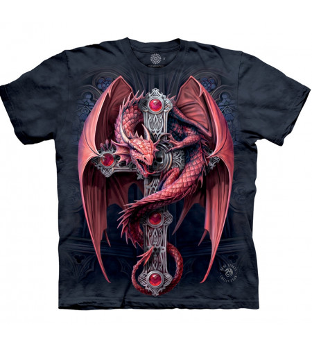 Gothic guardian - T-shirt dragon - The Mountain - Anne Stokes