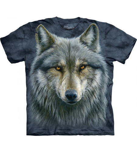 bOUTIQUE VENTE TEE SHIRT THE MOUNTAIN EN FRANCE motif loup