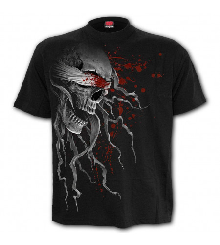 Blind faith - T-shirt crane tete mort - Spiral