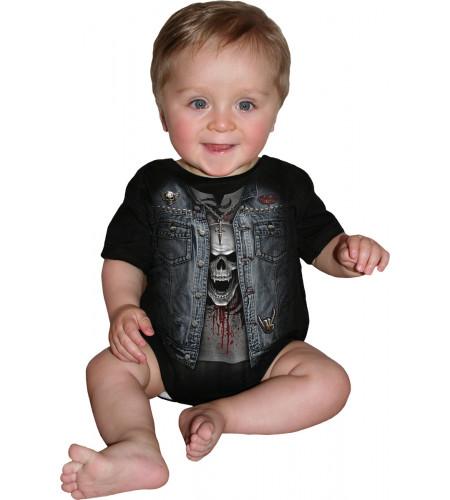 boutique vente body bébé rock metal vetement enfant spiral boutique france