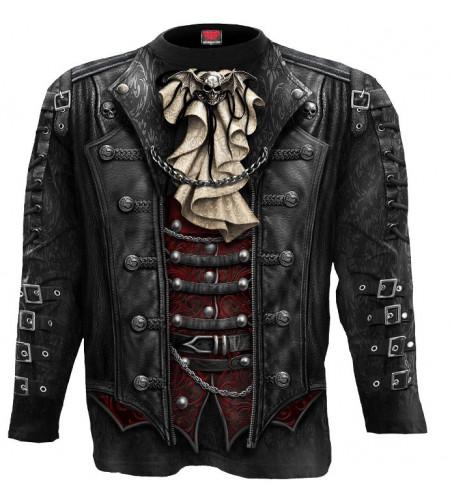 boutique vêtement motif steampunk gothic tee shirt homme