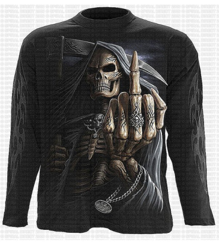 Bone finger - T-shirt manches longues