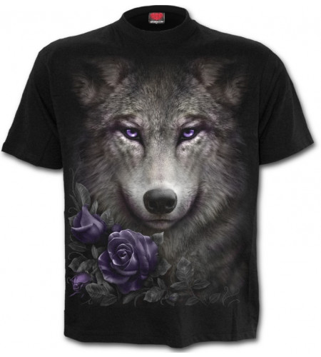 Wolf roses - T-shirt homme - Loup - Spiral