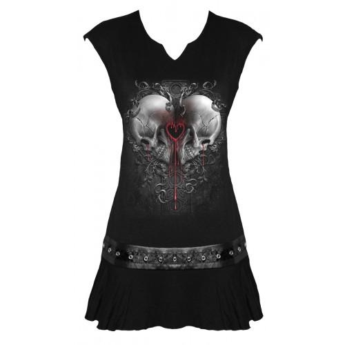 9be710cc17b Tunique gothique courte - Femme - Spiral boutique vetement - Love ...